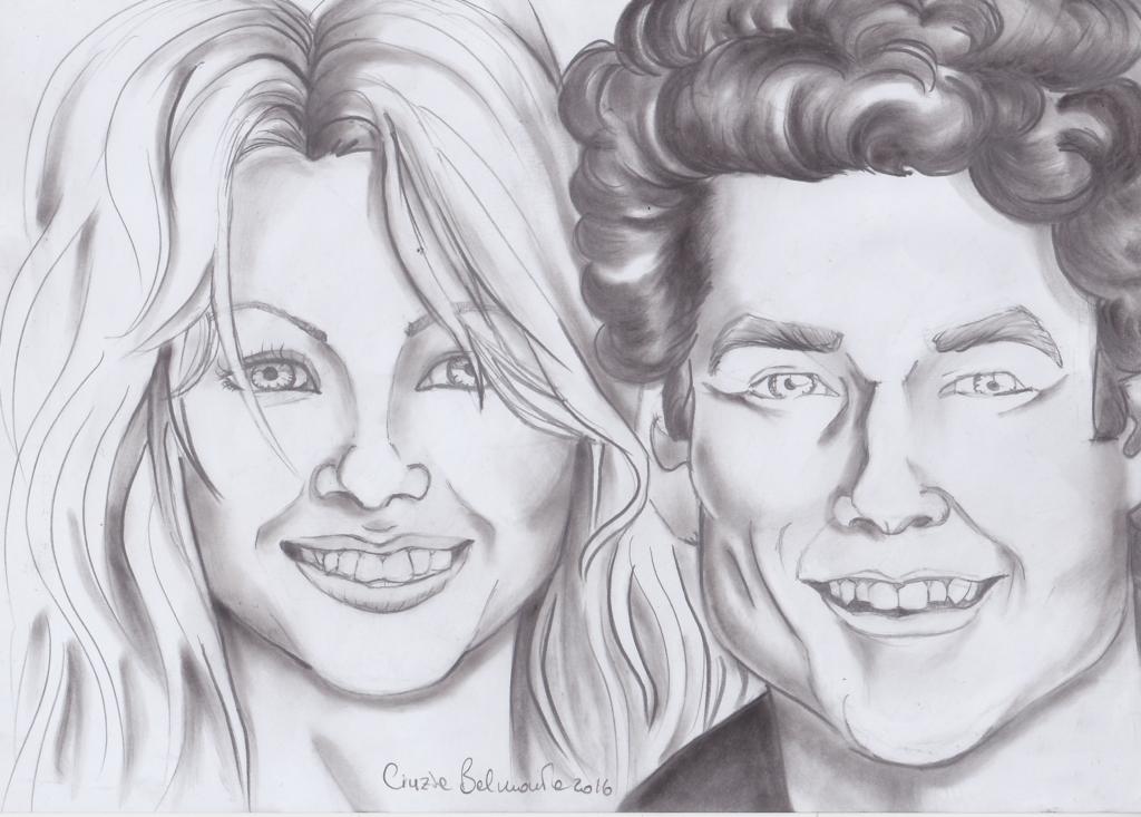 Pamela e David